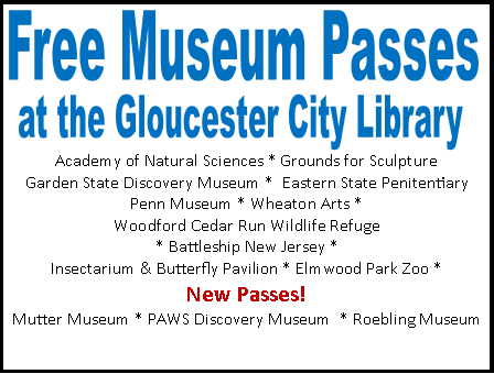 Free Museum Passes at Gloucester City Library